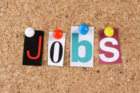 Jobs For People With Social Anxiety colored letters on a cork background